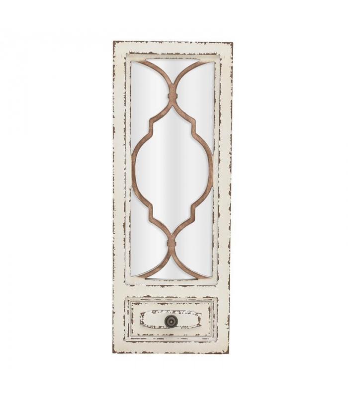 Oglinda fereastra antichizata - InArt