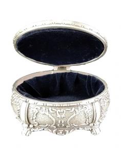 Caseta bijuterii ovala