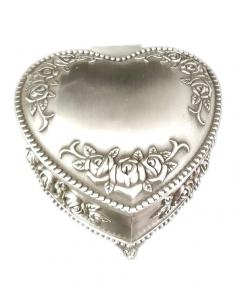 Caseta pentru bijuterii, inima