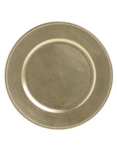 Platou suport auriu