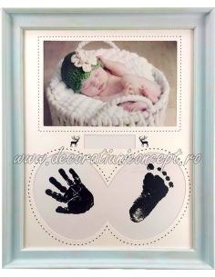 Rama foto si amprenta bebelus