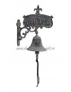Clopotel sonerie decorativa Welcome