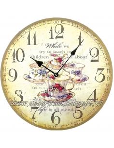 """Ceas de perete """"Tea Time"""""""