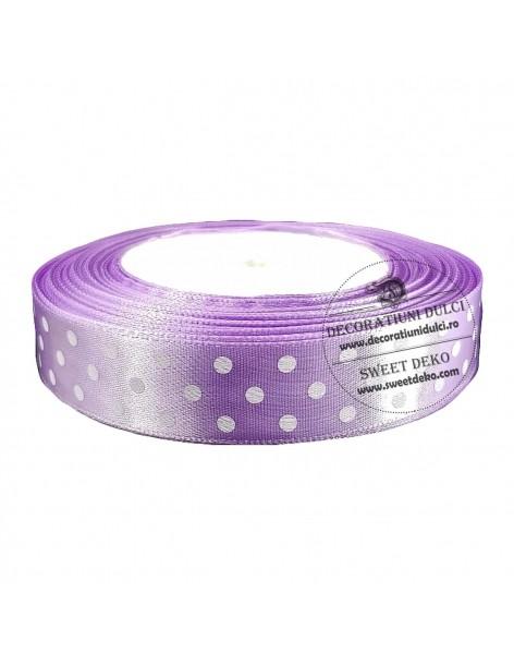 Banda lila cu buline