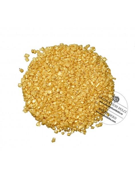 Decor auriu din zahar, Modecor