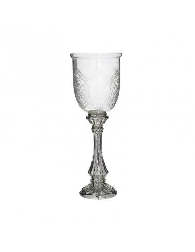 Sfesnic din sticla, cupa cu picior inalt