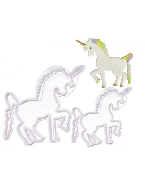 Set 2 decupatoare unicorn
